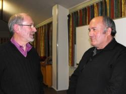 南岛区副会长 Dave Adamson 和 Alan Laurie