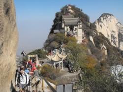 陕西省华山山顶上的寺庙