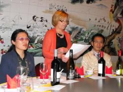 楚燕丽女士,代分会会长Ann White和 Licheng Li博士