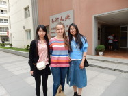 Lucy Ketel与在南昌艺术大学她交到的朋友